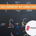 numeros en valenciano